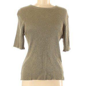 NWT Sag Harbor Short Sleeve Top Size M